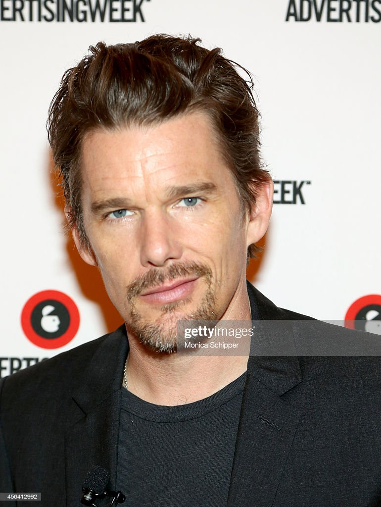 Ethan Hawke attends the Live Taping of IMDB What To Watch w/Ethan Hawke during AWXI on September 30, 2014 in New York City.