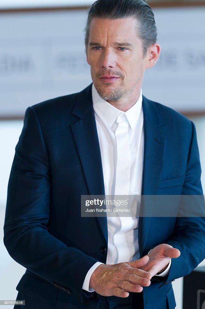 Ethan Hawke attends 'The Magnificent Seven' photocall during 64th San Sebastian Film Festival at Kursaal on September 17, 2016 in San Sebastian, Spain.