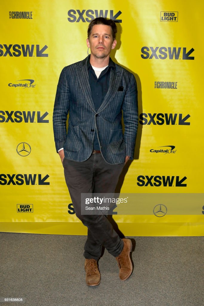 Ethan Hawke attends the premiere of 'First Reformed' during SXSW at Elysium on March 13, 2018 in Austin, Texas.