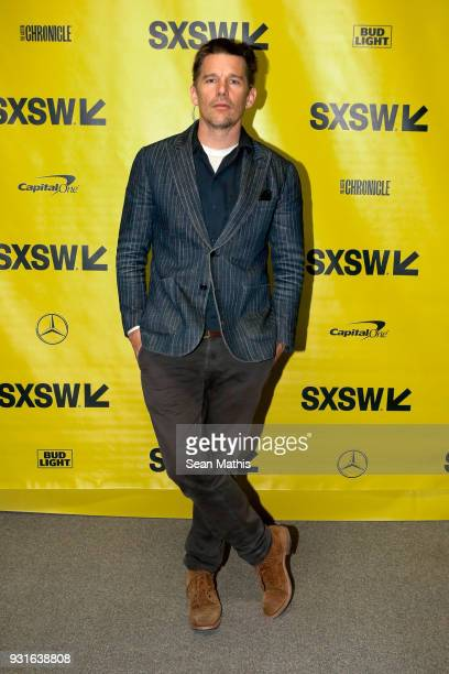 Ethan Hawke attends the premiere of First Reformed during SXSW at Elysium on March 13 2018 in Austin Texas