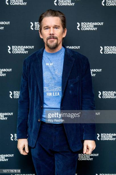 Ethan Hawke attends the True West Broadway photo call at Roundabout Rehearsal Studio on December 05 2018 in New York City