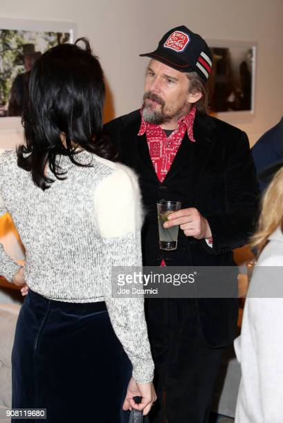 Ethan Hawke attends Variety and ATT's Indie Impact Dinner at DIRECTV Lodge presented by ATT during Sundance Film Festival 2018 on January 20 2018 in...