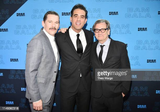 Ethan Hawke Bobby Cannavale and Griffin Dunne attend the BAM Gala 2019 on May 15 2019 in New York City
