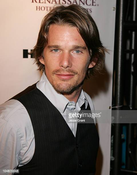 Ethan Hawke during 2005 Toronto Film Festival HD Net Films Party at Premiere Lounge at Club Monaco in Toronto Canada