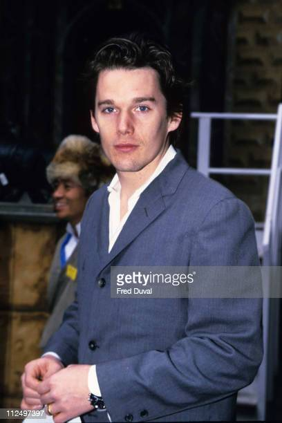 Ethan Hawke during Ethan Hawke at ShiWa photocall at Globe Theatre in London United Kingdom
