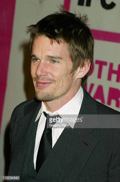 Ethan Hawke during The 14th Annual Gotham Awards Gala - Arrivals at Pier 60 in New York City, New York, United States.