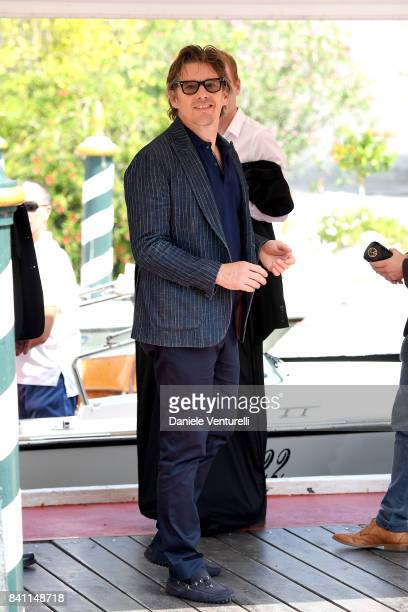 Ethan Hawke is seen during the 74th Venice Film Festival on August 31 2017 in Venice Italy