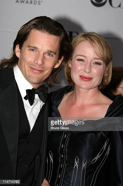 Ethan Hawke nominee Featured Actor for The Coast of Utopiaand Jennifer Ehle nominee Featured Actress for The Coast of Utopia