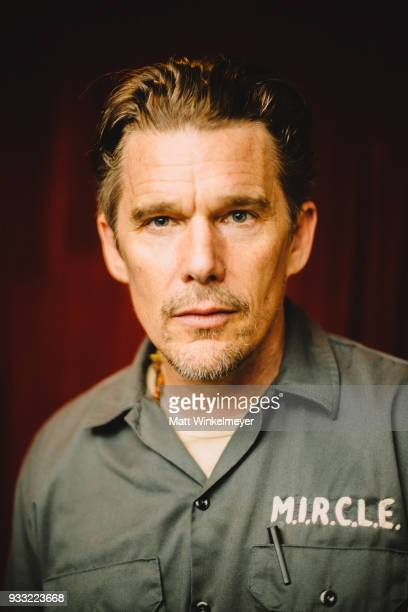 Ethan Hawke poses for a portrait at the Blaze Premiere at the 2018 SXSW Conference and Festivals at Paramount Theatre on March 16 2018 in Austin Texas