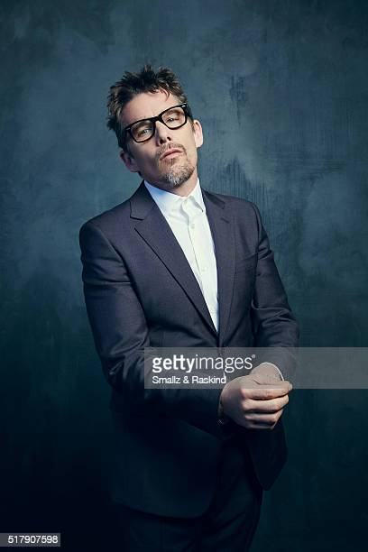 Ethan Hawke poses for a portrait in the Getty Images SXSW Portrait Studio Powered By Samsung on March 13 2016 in Austin Texas