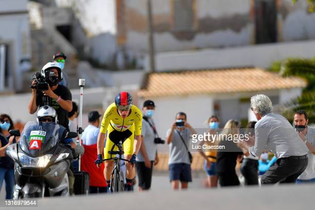 Ethan Hayter of United Kingdom and Team INEOS Grenadiers yellow leader jersey during the 47th Volta Ao Algarve 2021, Stage 4 a 20,3km Individual Time...