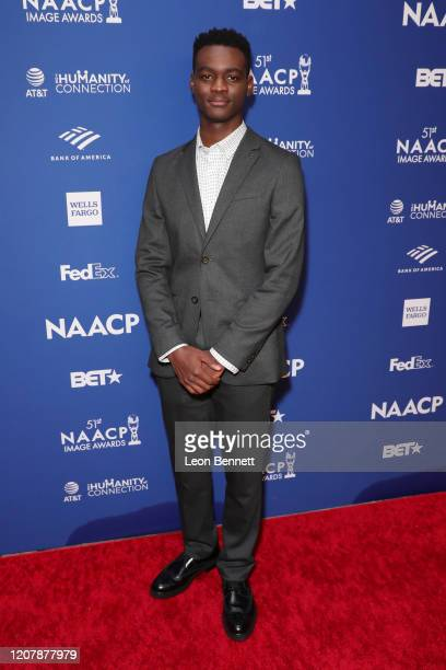 Ethan Henry Herisse attends 51st NAACP Image Awards nontelevised Awards Dinner arrivals on February 21 2020 in Hollywood California