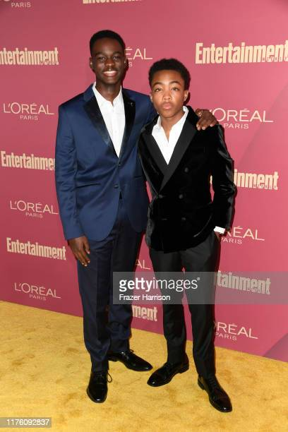 Ethan Herisse and Asante Blackk attend the 2019 Entertainment Weekly PreEmmy Party at Sunset Tower on September 20 2019 in Los Angeles California