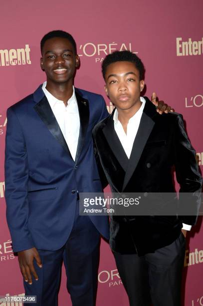 Ethan Herisse and Asante Blackk attend the 2019 PreEmmy Party hosted by Entertainment Weekly and L'Oreal Paris at Sunset Tower Hotel in Los Angeles...