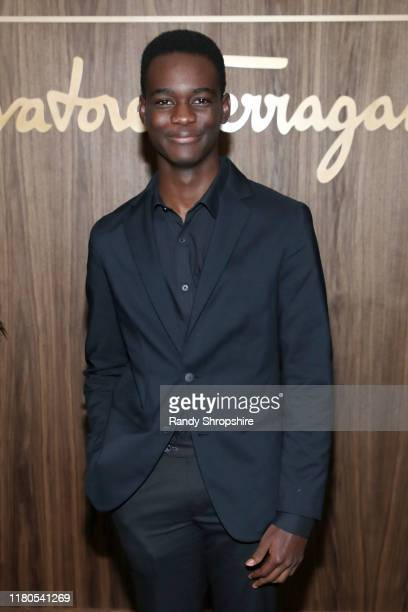 Ethan Herisse attends ELLE Ferragamo Hollywood Rising Celebration on October 11 2019 in West Hollywood California