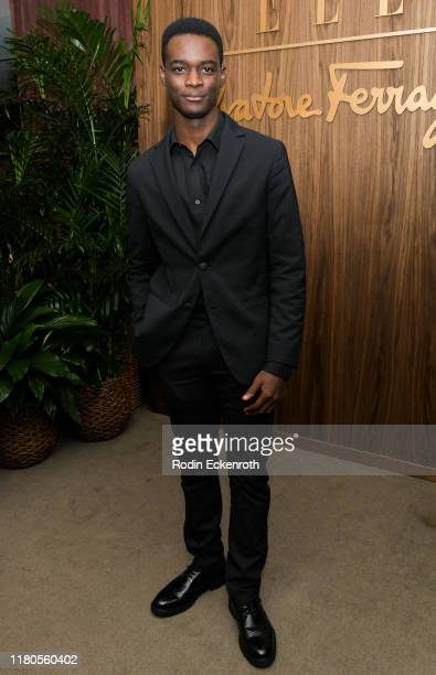 Ethan Herisse attends ELLE x Ferragamo Hollywood Rising Party at Sunset Tower on October 11 2019 in Los Angeles California