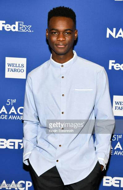 Ethan Herisse attends the 51st NAACP Image Awards Nominees Luncheon on February 01 2020 in Pasadena California