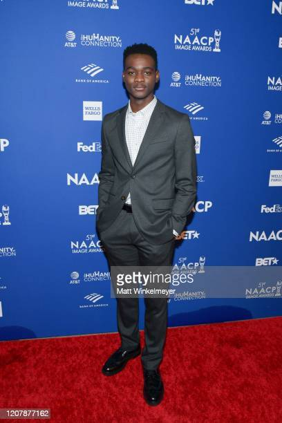 Ethan Herisse attends the 51st NAACP Image Awards nontelevised Awards Dinner on February 21 2020 in Hollywood California
