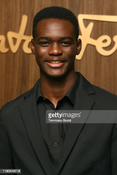 Ethan Herisse attends the ELLE x Ferragamo Hollywood Rising Party at Sunset Tower on October 11 2019 in Los Angeles California