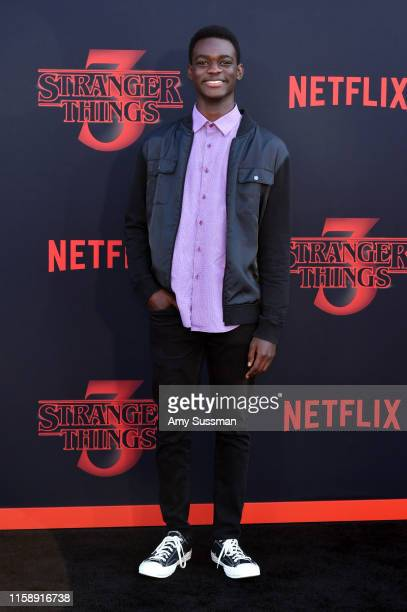 Ethan Herisse attends the premiere of Netflix's Stranger Things Season 3 on June 28 2019 in Santa Monica California
