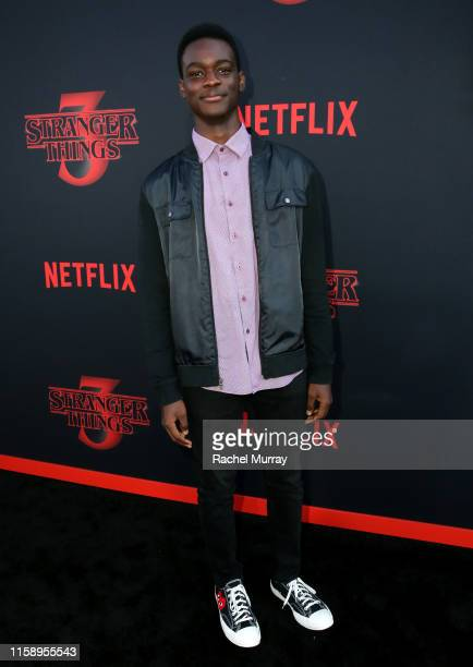 Ethan Herisse attends the Stranger Things Season 3 World Premiere on June 28 2019 in Santa Monica California