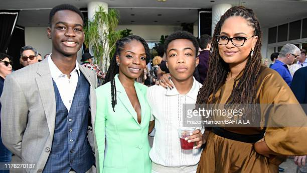 Ethan Herisse Marsha Stephanie Blake Asante Blackk and Ava DuVernay attend the BAFTA Los Angeles BBC America TV Tea Party 2019 at The Beverly Hilton...