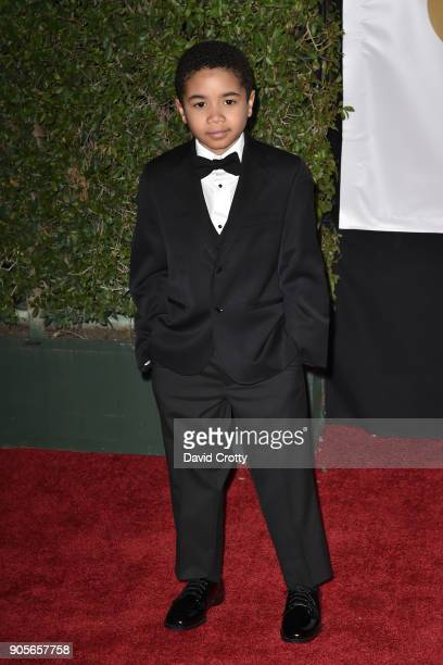 Ethan Hutchison attends the 49th NAACP Image Awards Arrivals at Pasadena Civic Auditorium on January 15 2018 in Pasadena California