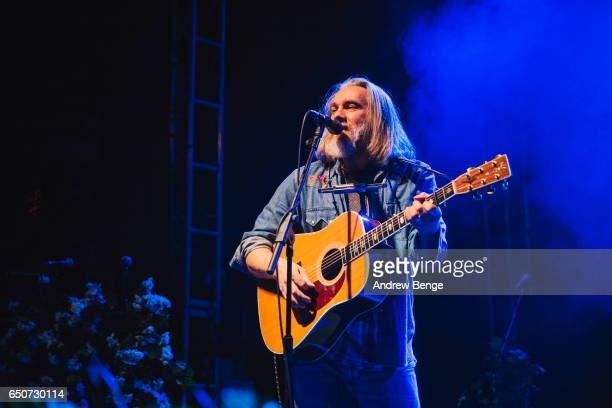 Ethan Johns performs at the O2 Academy In Leeds on March 8 2017 in Leeds United Kingdom