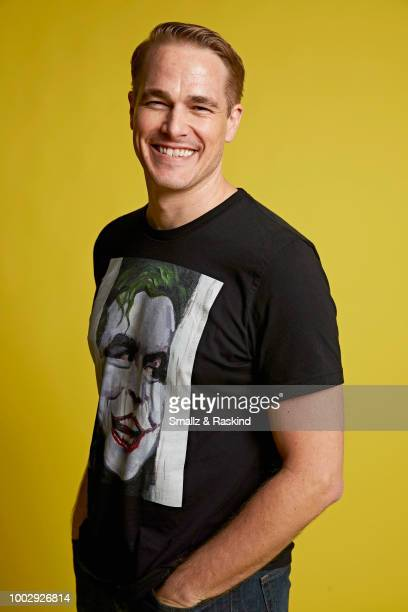 Ethan McDowell from 'Space Command' poses for a portrait at the Getty Images Portrait Studio powered by Pizza Hut at San Diego 2018 Comic Con at...