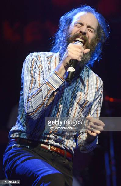 Ethan Miller performs during Petty Fest at The Fillmore on February 27 2013 in San Francisco California