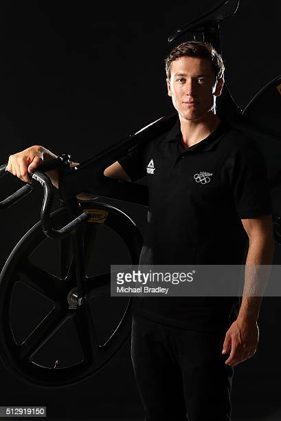 Ethan Mitchell poses during the New Zealand Olympic teams Rio 2016 Olympic Games portrait session on February 15 2016 in Cambridge New Zealand