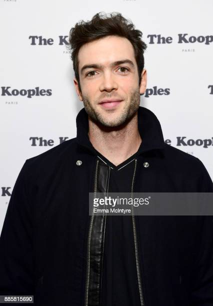 Ethan Peck at The Kooples and Emily Ratajkowski LA Cocktail Event at Chateau Marmont on December 4 2017 in Los Angeles California