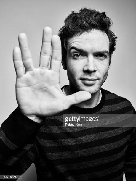 Ethan Peck of CBS's 'Star Trek Discovery' poses for a portrait during the 2019 Winter TCA at The Langham Huntington Pasadena on January 30 2019 in...