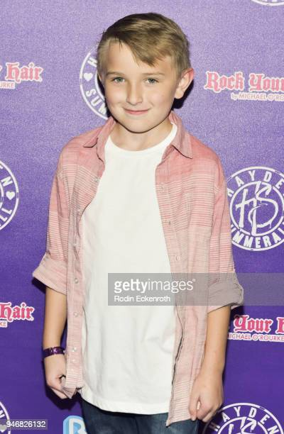 Ethan Perkins attends Hayden Summerall's 13th Birthday Bash at Bardot on April 15 2018 in Hollywood California