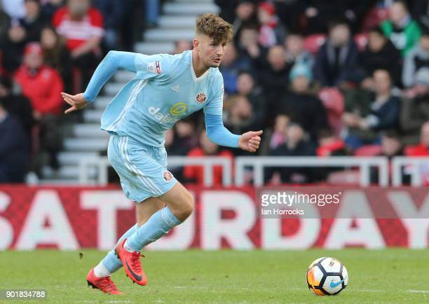 Ethan Robson of Sunderland during the FA cup third round match between Middlesbrough FC and Sunderland AFC at Riverside Stadium on January 6 2018 in...
