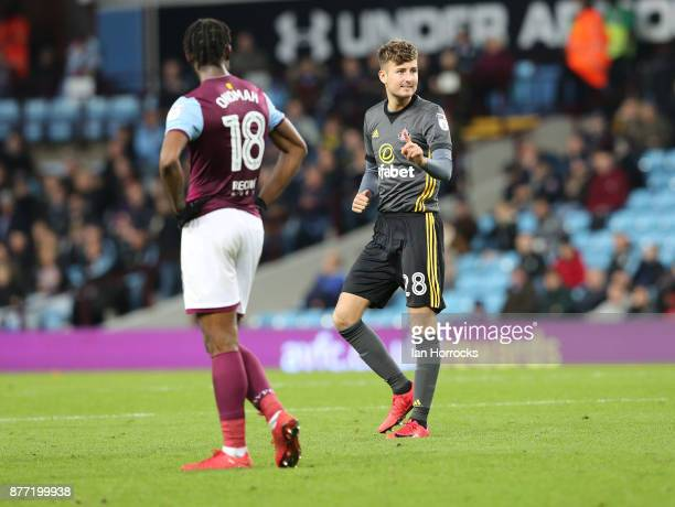 Ethan Robson of Sunderland during the Sky Bet Championship match between Aston Villa and Sunderland at Villa Park on November 21 2017 in Birmingham...