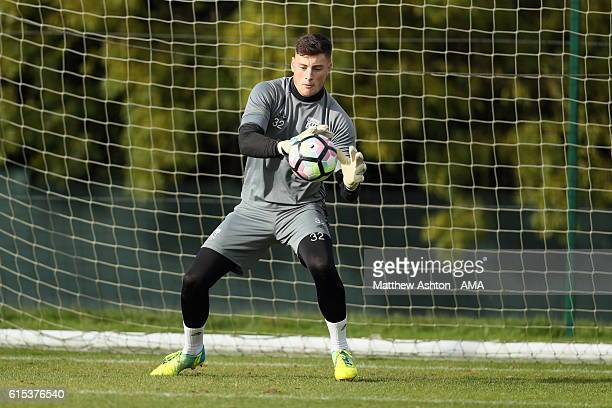 Ethan Ross of West Bromwich Albion during a training session on October 18 2016 in West Bromwich England