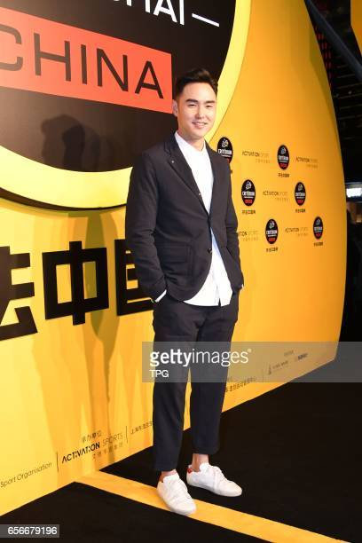 Ethan Ruan attends Tour de France Shanghai Conference on 22th March 2017 in Shanghai China