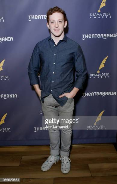 Ethan Slater attends 63rd Annual Drama Desk Awards nominees reception at Friedmans in the Edison Hotel on May 9 2018 in New York City