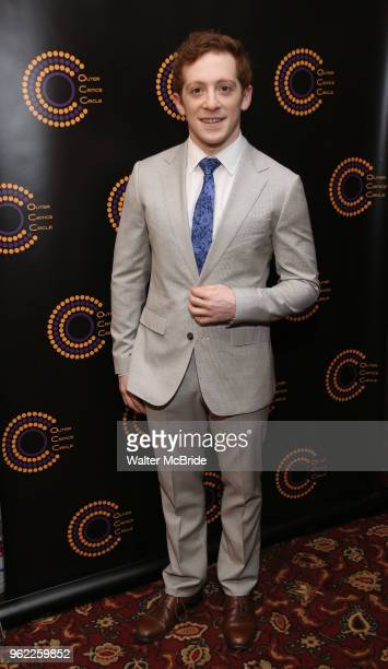 Ethan Slater attends the 68th Annual Outer Critics Circle Theatre Awards at Sardi's on May 24 2018 in New York City
