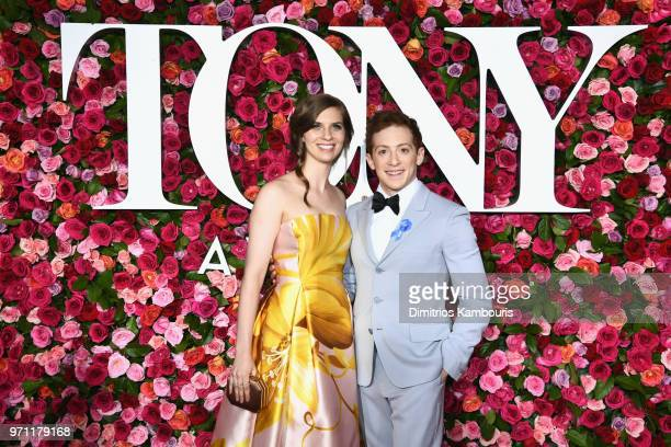 Ethan Slater attends the 72nd Annual Tony Awards at Radio City Music Hall on June 10 2018 in New York City