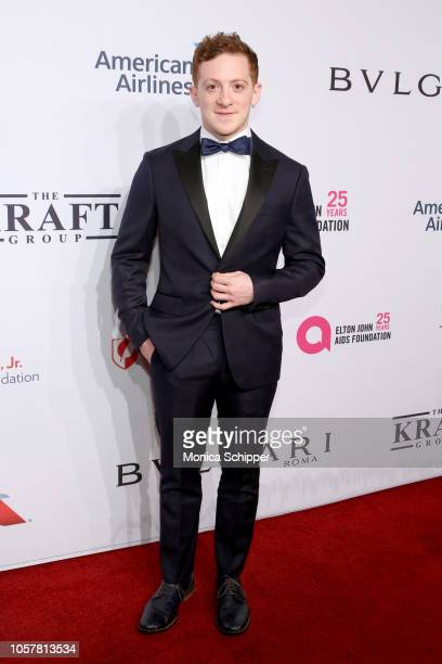 Ethan Slater attends the Elton John AIDS Foundation's 17th Annual An Enduring Vision Benefit at Cipriani 42nd Street on November 5 2018 in New York...