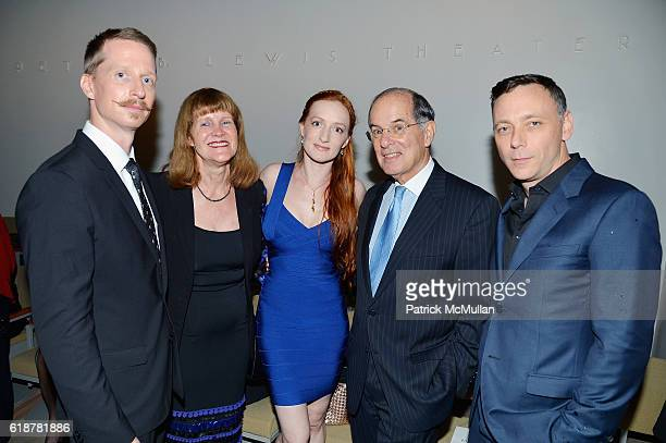 Ethan Stiefel Michele Pesner Gillian Murphy Steve Pesner and Larry Keigwin attend the Works Process Rotunda Projects Gala at the Guggenheim at...
