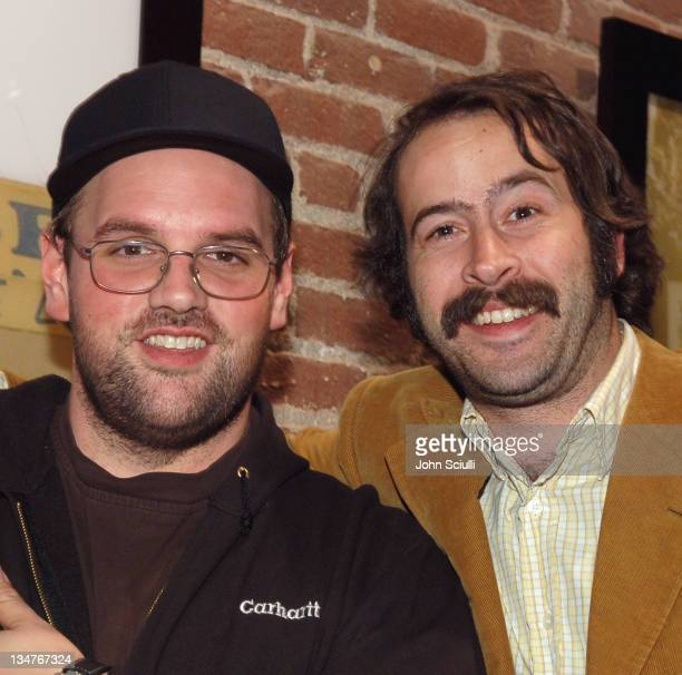 Ethan Suplee and Jason Lee during Alex Prager and Mercedes Helnwein's The Book of Disquiet A Story of the Seven Deadly Sins Hosted by Details...