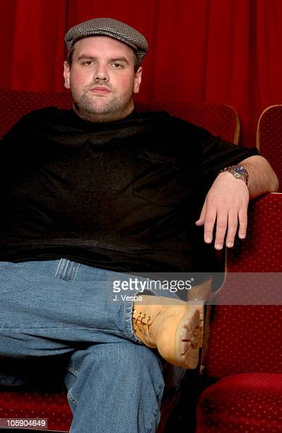 Ethan Suplee during 2004 Sundance Film Festival Butterfly Effect Portraits at HP Portrait Studio in Park City Utah United States