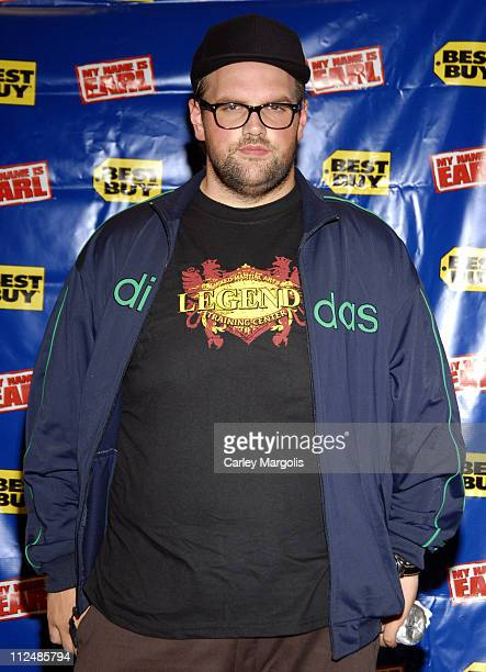 Ethan Suplee during My Name is Earl Cast In Store Appearance at Best Buy September 19 2006 at Best Buy in New York City New York United States