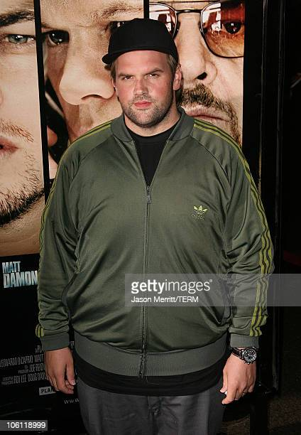 Ethan Suplee during The Departed Los Angeles Screening at The Director's Guild of America in West Hollywood California United States