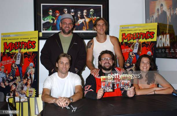 Ethan Suplee Jason Mewes producer Scott Mosier writerdirector Kevin Smith and Renee Humphrey