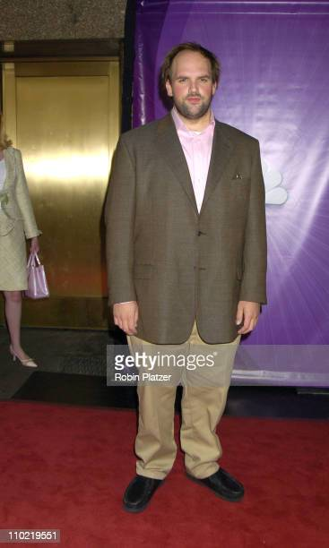 Ethan Suplee of My Name is Earl during 2005/2006 NBC UpFront Arrivals at Radio City Music Hall in New York City New York United States