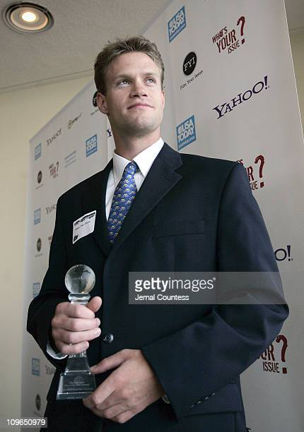 """Ethan Van Duzer, producer of """"Give A Hoot"""" and winner of the Natural Resources Defense Council FYI Award"""